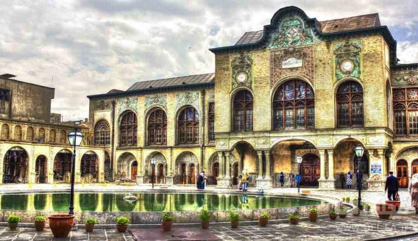 مسعودیه یکی از آثار تاریخی تهران