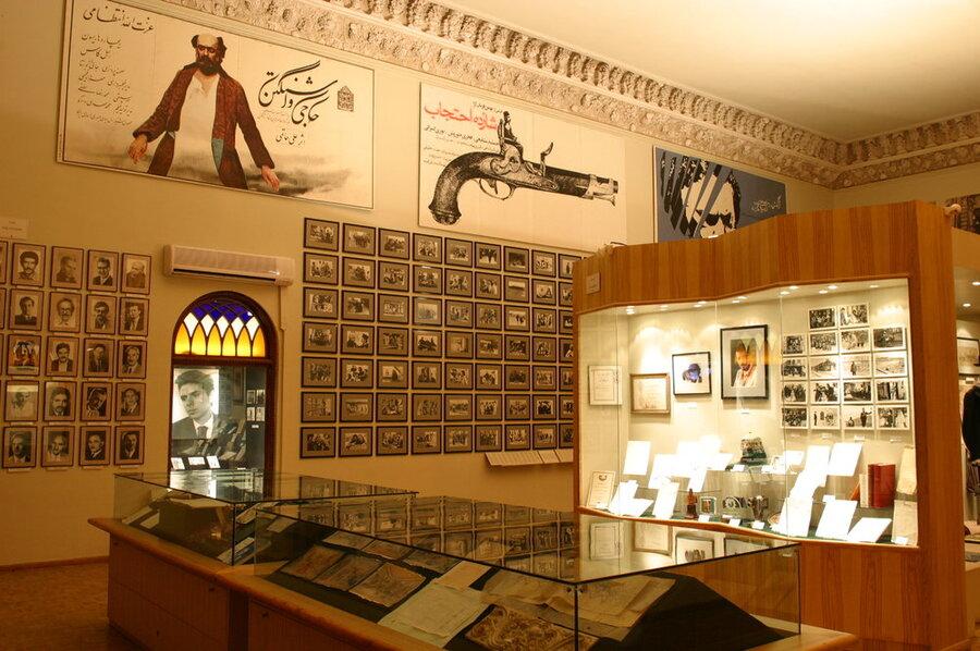 موزه سینما یکی از آثار تاریخی تهران