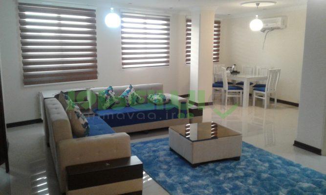 اجاره آپارتمان مبله دو خوابه در صادقیه تهرانT.W.AP.38