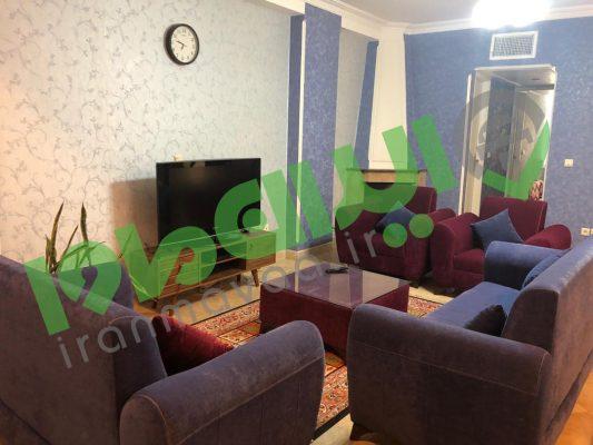 اجاره آپارتمان مبله دو خوابه در اندرزگو تهران T.N.AP.36
