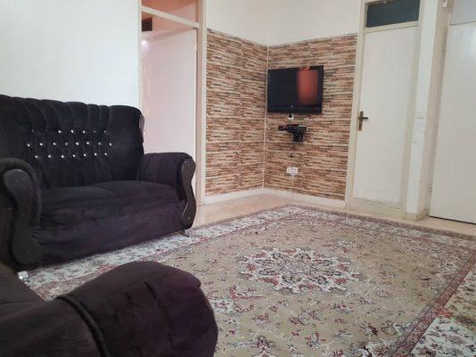 اجاره آپارتمان مبله یک خوابه 75متری در بلوارفردوس تهرانT.W.AP.40