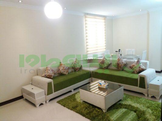 اجاره آپارتمان مبله یک خوابه 85 متری در صادقیه تهرانT.W.AP.48