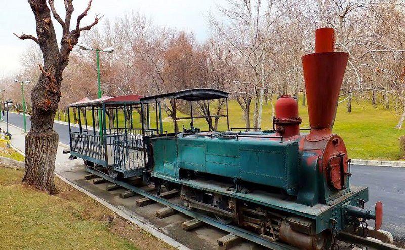 قطار دودی پارک ملت تهران