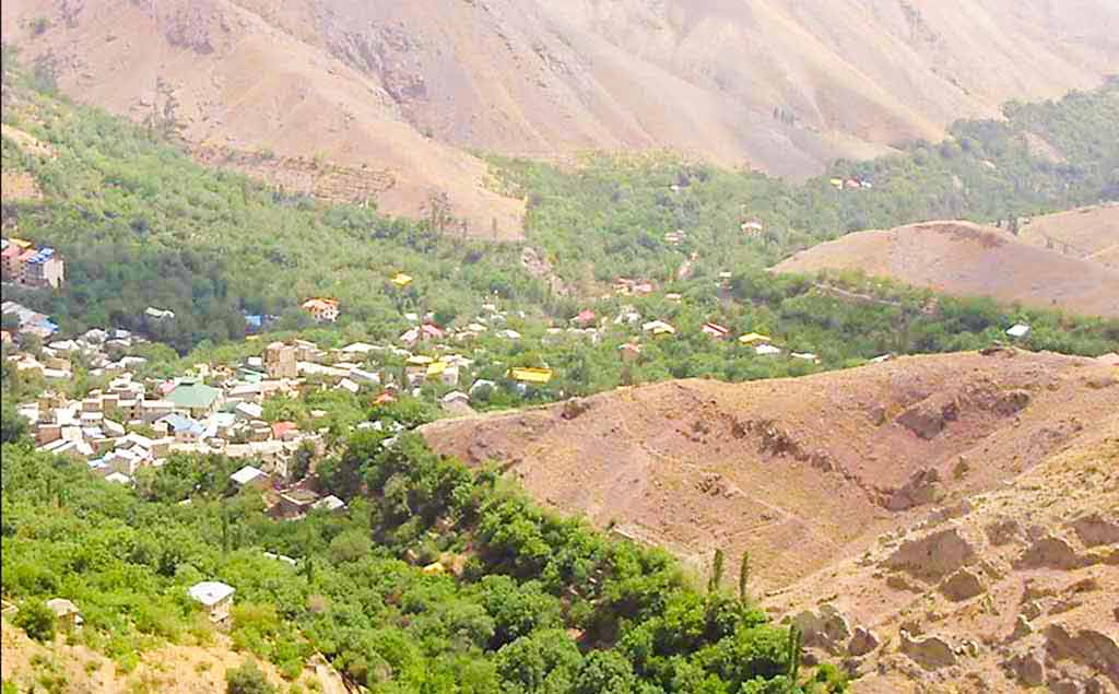 روستای برگ جهان